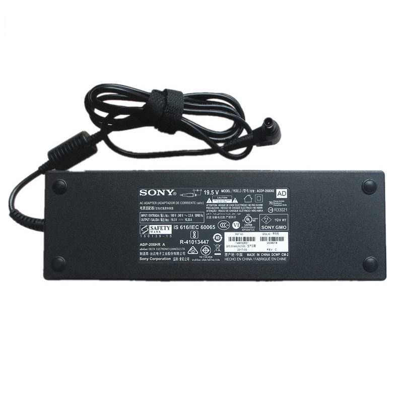 Original 200W Sony Bravia XBR-49X900E Adapter Charger